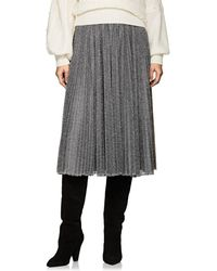 Philosophy Di Lorenzo Serafini - Pleated Lamé Skirt - Lyst