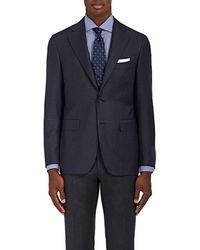 Canali - Capri Checked Wool Two - Lyst