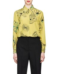 Dries Van Noten - Floral-sketch - Lyst