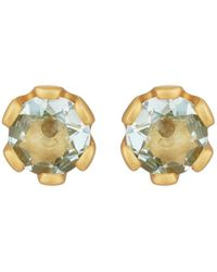 Linda Lee Johnson - Elizabeth Stud Earrings - Lyst