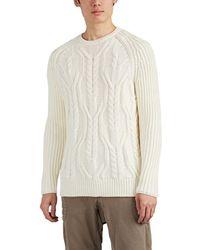 Neil Barrett - Cable-knit Wool Jumper - Lyst