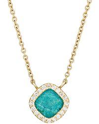 Monique Péan - White Diamond & Opalina Pendant Necklace - Lyst