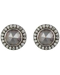 Zoe - Circular Stud Earrings - Lyst