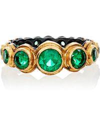 Judy Geib - Women's Colombian Emerald Ring - Lyst