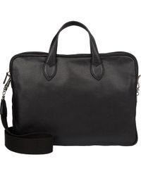 Barneys New York - Men's Double-handle Briefcase - Lyst
