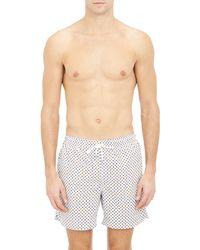 Petronius - Floral Swim Shorts Size Na - Lyst