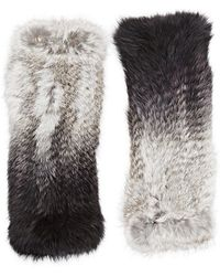Eugenia Kim - Fur Elodie Fingerless Gloves - Lyst