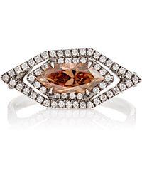 Monique Pean Atelier - Champagne & White Diamond Ring - Lyst