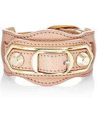 Balenciaga - Metallic Edge Bracelet - Lyst