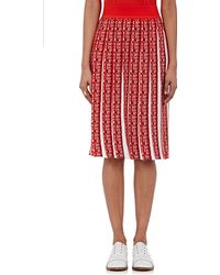 Orley - Jacquard-knit Box-pleated Skirt - Lyst