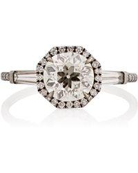 Monique Pean Atelier - White Diamond Ring - Lyst