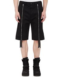 Hood By Air - Men's Twill Layered Shorts - Lyst