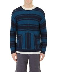Outerknown - Men's Striped Sweater - Lyst