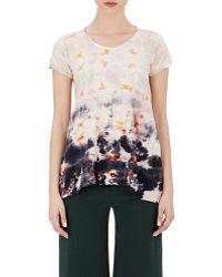 Gilda Midani - Women's Tie-dyed Monoprix T-shirt - Lyst
