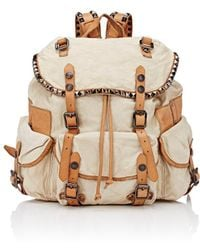 Campomaggi - Studded Backpack - Lyst