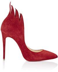 replica dress shoes for men - Christian louboutin Women's Marlenarock Pumps in Pink (Red) | Lyst