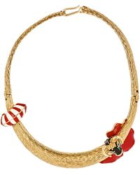 Maison Mayle - Matadora Collar Necklace Size Os - Lyst