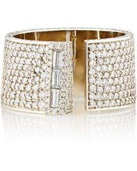 Monique Pean Atelier - White Diamond & White Gold Serra Ring Size 7.25 - Lyst