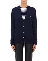 Harvey Faircloth - Embroidered Cardigan - Lyst