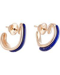 Fernando Jorge - Women's Stream Lines Hoop Earrings - Lyst