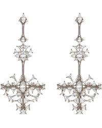 Fernando Jorge - Fusion Cross Drop Earrings - Lyst