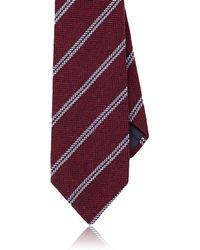 Petronius - Double-stripe Herringbone Wool Necktie - Lyst