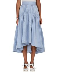 Teija - Striped Cotton Midi - Lyst