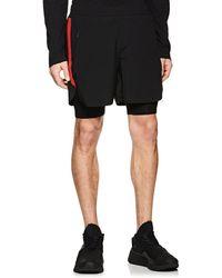 Neil Barrett - Layered Compression Gym Shorts - Lyst