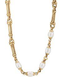 Goossens Paris - Pearl Necklace - Lyst