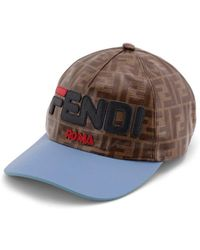 f64be14cd01 Fendi - Mania Baseball Hat - Lyst