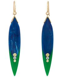 Mark Davis - Bakelite & Mixed-gemstone Drop Earrings - Lyst