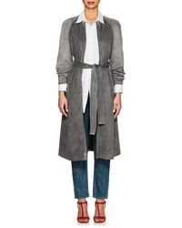 Giorgio Armani - Long Belted Coat - Lyst