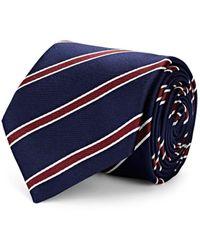Bigi - Striped Silk Satin Necktie - Lyst