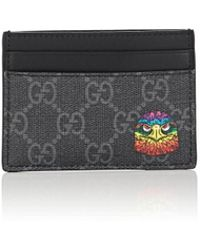 Gucci - Coated Canvas Card Case - Lyst