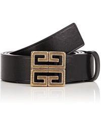 Givenchy - Logo Leather Belt - Lyst