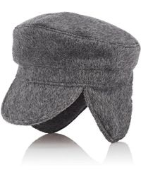 House of Lafayette - Brushed Cashmere Fisherman Cap - Lyst