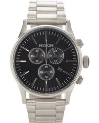 Nixon - Sentry Chrono Watch - Lyst