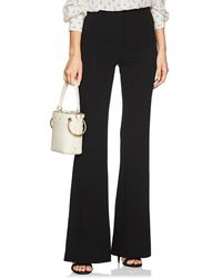 Derek Lam - Georgia Stretch-jersey Wide-leg Trousers - Lyst