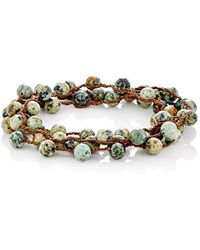 Feathered Soul - #elm Wrap Bracelet - Lyst