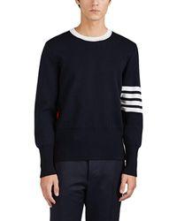 Thom Browne - Block-striped Wool Sweater - Lyst
