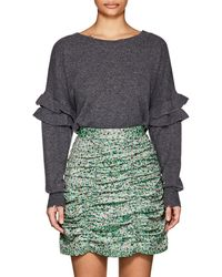 Current/Elliott - The Ruffle Sweater - Lyst