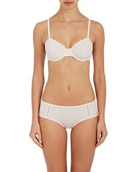 e0f580cce1 Eres Peau D ange Delicieuse Underwire Bra in Gray - Lyst