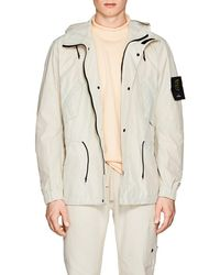 Stone Island - Water-repellent Tech - Lyst
