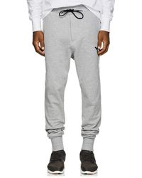 Y-3 - Logo Cotton French Terry Jogger Pants - Lyst