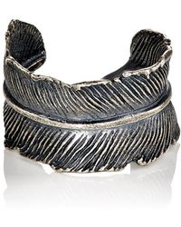 M. Cohen - Feather Cuff Ring - Lyst