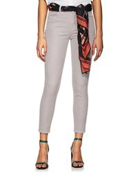 J Brand - Alana Corduroy High-rise Crop Jeans - Lyst