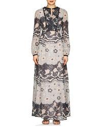 Warm - Chelsea Floral Voile Maxi Dress - Lyst