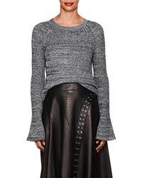 Derek Lam - Mélange Cotton Sweater - Lyst