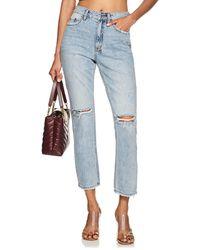 Ksubi - Slim Pin Distressed Jeans - Lyst
