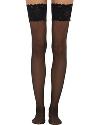 Wolford - Satin Touch Thigh - Lyst